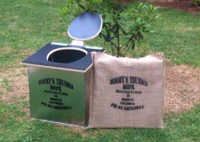 Jimmy's ThunderBox™ Camping Toilet